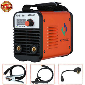 Hitbox 110v 220v Inverter Welder Mini Handheld Arc Welding Machine Mma 20 160a