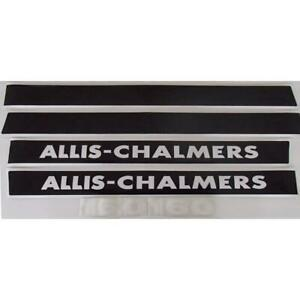 Ac160 New Hood Decal Set Made To Fit Allis Chalmers Tractor Model 160