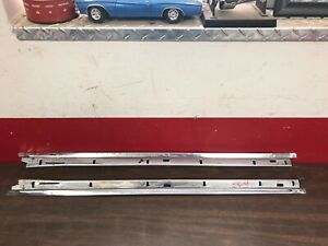 1953 1954 Chevy Pontiac Roof Rail Upper Door Flippers Pair Lh Rh Sides 1219bg