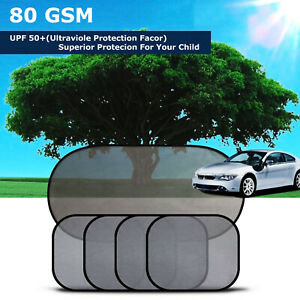 Car Suv Auto 5pcs Sun Shade Side Rear Window Visor Sun Protector For Child Baby