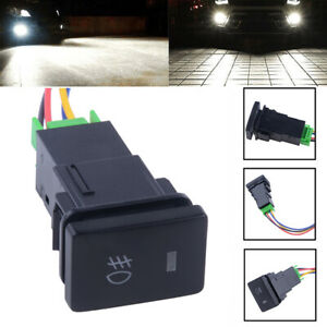 Push Switch Fog Light On Off Button Led Bar For Toyota Tacoma Fortuner 2005 2014