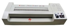 110v Thermal A3 A4 Hot Cold 13 Picture Pouch Film Laminator Laminating