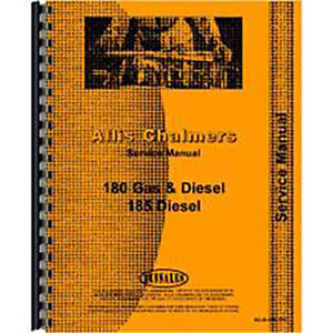 Allis Chalmers 185 Tractor Service Manual