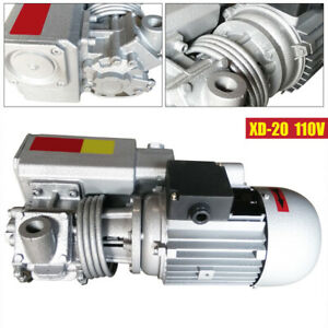 Single Stage Vacuum Pump Rotary Vane Suction Pump Vacuum Machine Motor Xd 20 Us
