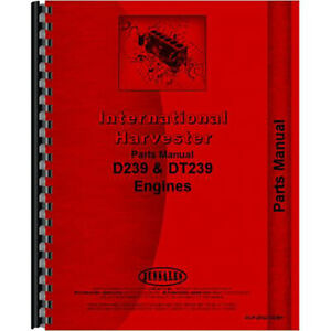 Parts Manual For International Harvester 3500a Tractor Engine