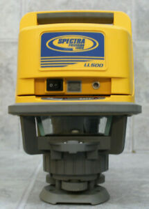 Spectra Precision Ll500 Hl700 Rotary Laser Level Receiver