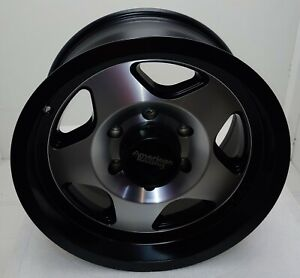American Racing Ar923 Black With Machined Face 16x8 Bp 6x1397 Et 0