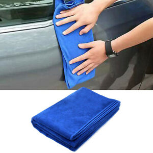 Microfiber Cleaning Cloth Towel Rag Car Polishing No Scratch Detailing 30 70cm