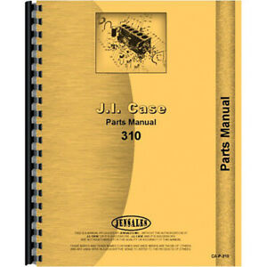 New Parts Manual For Fits Case 310 Crawler
