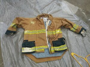 Morning Pride Bunker Jacket Turnout Gear Size 48 X 33 Fire Fighter