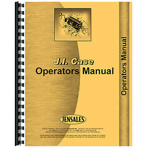 New Operator s Manual Fits Case 730 Gas And Lp s n 8173401 822900