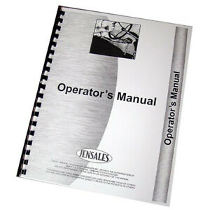 Equipment Operator Manual Fits Caterpillar D7h 4fg1 And Up