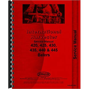 Baler Service Manual For International Harvester 440