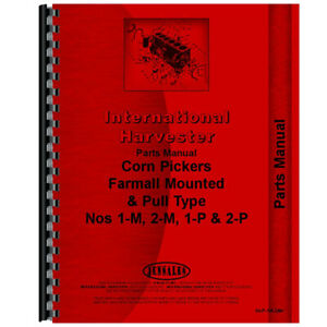 Tractor Parts Manual For International Harvester 1 m