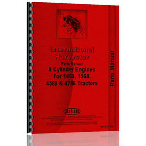 International Harvester Td20e Crawler Engine Parts Manual