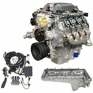Chevrolet Performance 19370850k1 Lsa Supercharged 376ci 6 2l Engine Kit 556 Hp