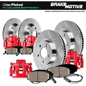 Front And Rear Brake Calipers Rotors Pads For Bmw 318i 318is 323i 325i 328i E36