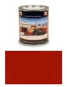 1 Quart Of Bright Red Paint Fits Ford 600 700 800 900 2n 8n 9n Naa
