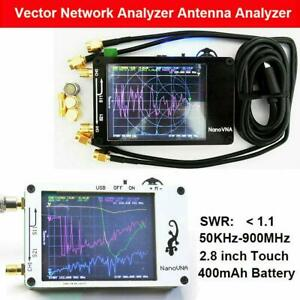 Nanovna 50khz 900mhz Vector Network Analyzer Uhf Hf Vna Vhf Uv Antenna Analyze