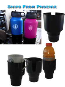 Universal Car Cup Holder Adapter Fits Hydro Flask Yeti And Other Bottles