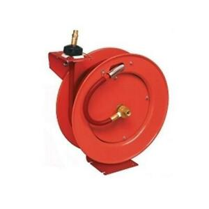 83754 Retractable Air Hose 1 2 Reel W 50 Ft Fits Lincoln