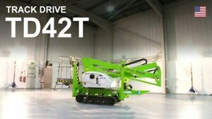 Nifty Td42t Boom Lift 48 5 Ft Work Height 25 Ft Outreach Only 4500lbs Diesel