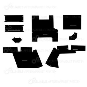 K62090 6 Piece Black Cab Foam Kit For Case ih Tractor 2290
