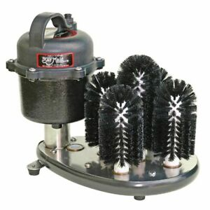 Bar Maid Ss 100 Submersible 115 Volt 5 brush Electric Glass Washer