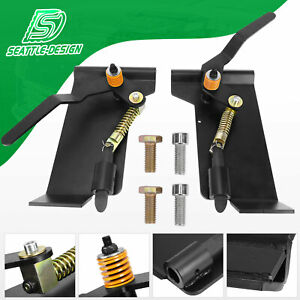 Skid Steer Loader Latch Box Tractor Quick Attach Conversion Adapter Weld On Qtk