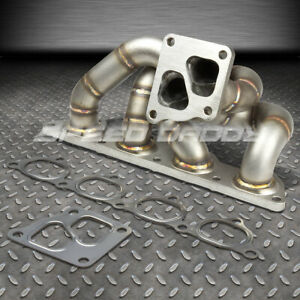 For 05 06 Mit Evo 7 8 9 4g93t Td05 Cast Stainless Steel Turbo Manifold Exhaust