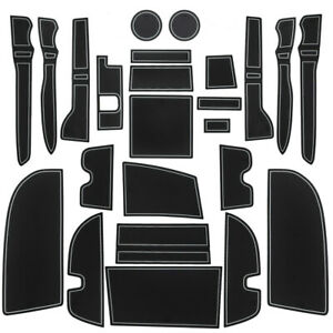 For Toyota 4runner 2010 2020 Cup Holder Door Console Liner Accessories Gy Trim