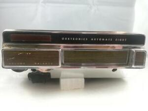 1969 Orrtronics Car Auto 8 track Stereo Tape Player Model 682 120