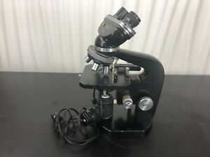 Vintage Nikon Model 64706 Microscope Lamp Objectives