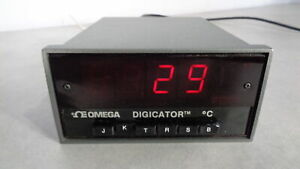 Omega Digicator 403b Temperature Display Meter Thermocouple In Perfect Workin