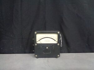 Vintage Weston Electrical Instrument Corp Model 433
