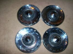 1962 62 Plymouth Fury 4 14 Hubcaps
