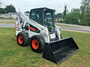 Very Nice 2015 S650 Bobcat Skid Steer With Only 2324 Hours