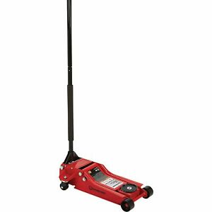 Strongway Hydraulic Quick Lift Service Jack 3 Ton Cap 4in 18 5 16in Lift Range