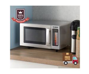 New Solwave Electric Commercial Microwave Oven Restaurant Equipment Push Button