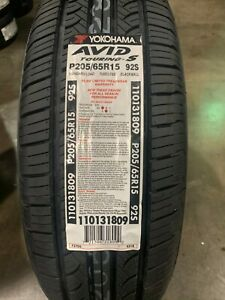 2 New 205 65 15 Yokohama Avid Touring s Tires