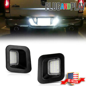 For 2003 2018 Dodge Ram 1500 2500 3500 Led Smd License Plate Light Bulbs