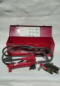 Enerpac Cable Bender With Foot Pump Hose And Case