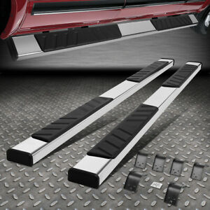 For 09 20 Ram 1500 2500 3500 Crew Cab 4 9 Flat Side Step Nerf Bar Running Board
