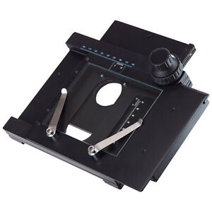 Amscope X y Gliding Table Manual Stage For Microscopes