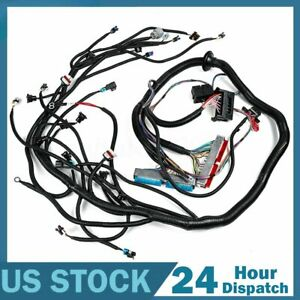 Standalone Wiring Harness W 4l60e Transmission For 99 03 Vortec 4 8 5 3 6 0