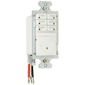 Pass Seymour Indoor 7 Button Timer Switch 120 Volts White