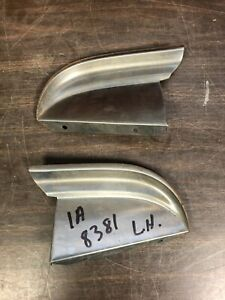 1951 Ford Lh And Rh Upper Radiator Grille Bar Ends Pair Nos Ford 120