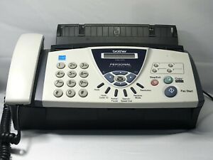 Brother Fax 575 Personal Plain Paper Fax Phone And Copier Fast Shipping