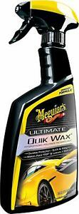 Meguiars G200924 Ultimate Quik Wax 24 Oz Shining And Protecting Spray