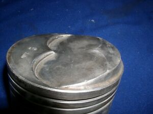 L2298 427 Ford Fe Dome Forged Piston Standard Bore Singe